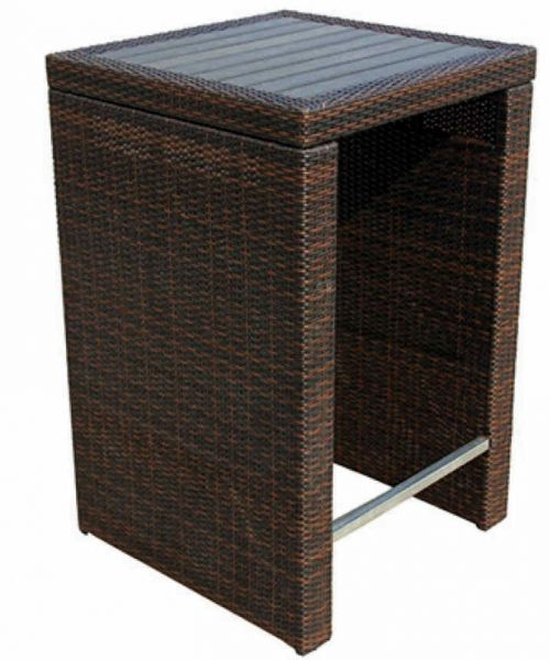 bartisch f r den outdoor bereich wie garten und terrasse kaufen stuhlwerk eu. Black Bedroom Furniture Sets. Home Design Ideas
