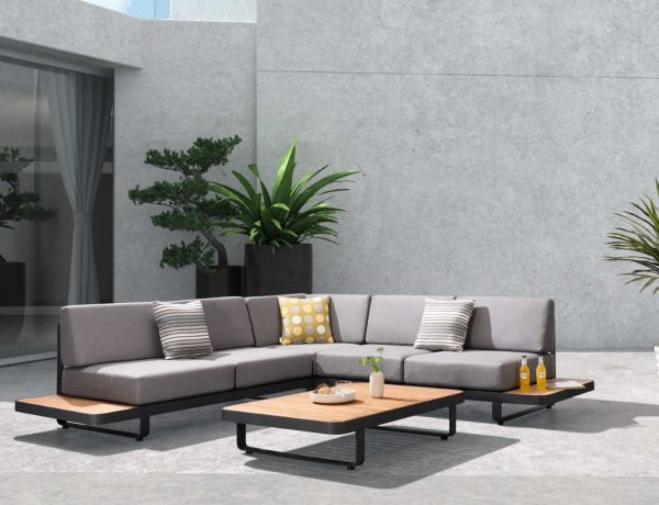 Lounge outdoor Ecke