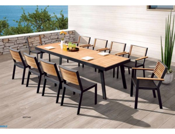 gartenm bel set york dinner set stuhlwerk eu. Black Bedroom Furniture Sets. Home Design Ideas