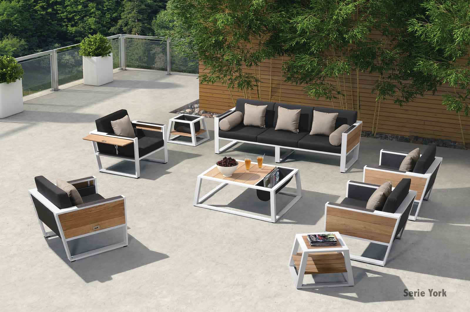 exklusive gartenm bel york garten set york higold terrassenm bel stuhlwerk eu. Black Bedroom Furniture Sets. Home Design Ideas