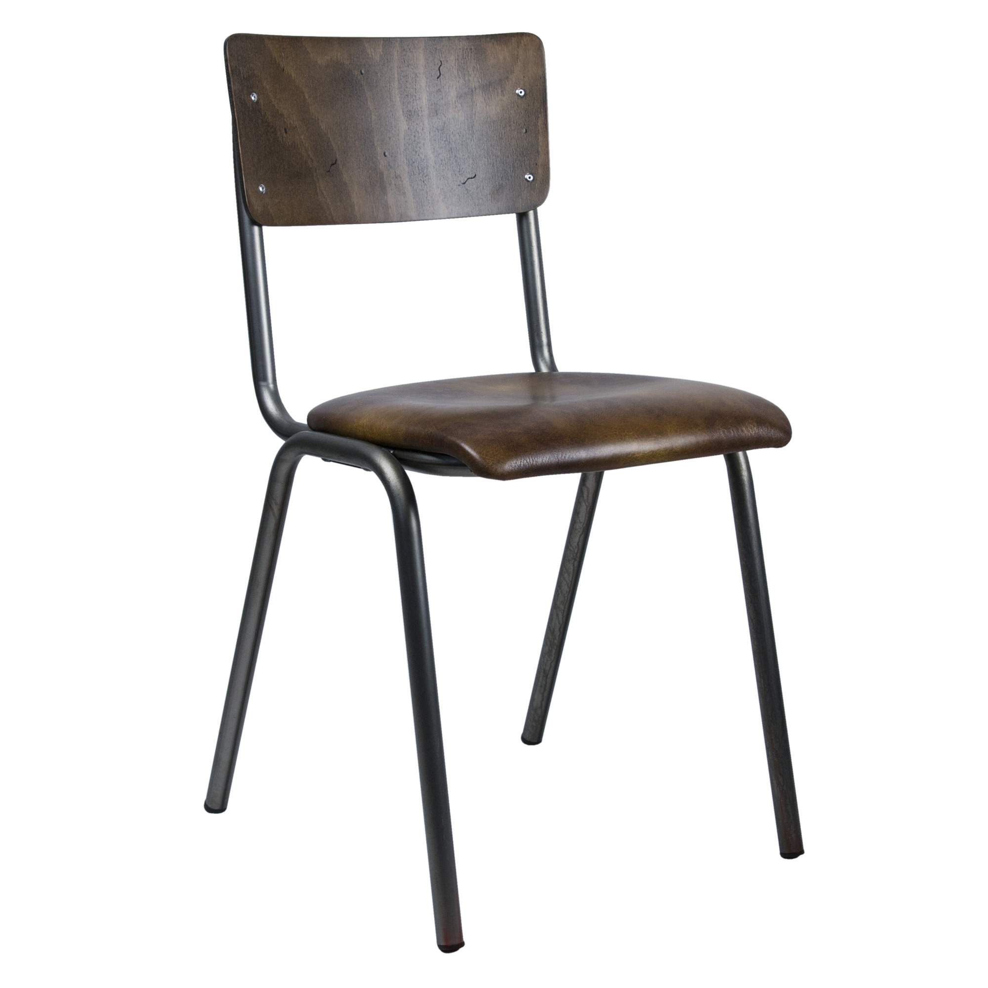 Skool skai leather beech wood bistro k chen st hle for Designer tischplatten